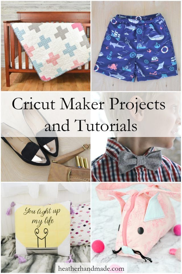 Cricut Maker Sewing Projects Archives • Heather Handmade