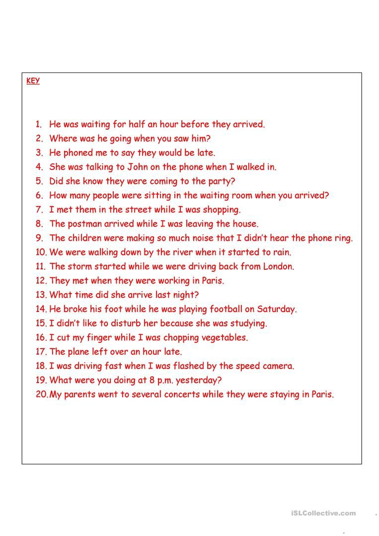 Past Simple Or Continuous Worksheet Free Esl Printable Worksheets Made By Teachers Writing Skills Continuity Teaching English Grammar [ 1079 x 763 Pixel ]