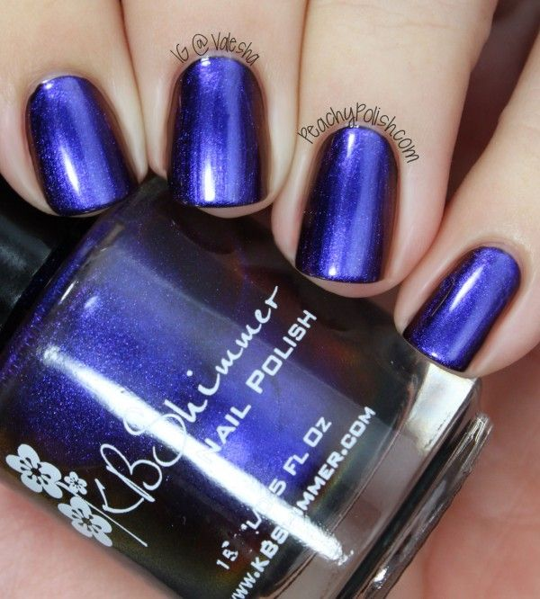 """Shade Shifter"""" is a multichrome that comes off mostly blue. 