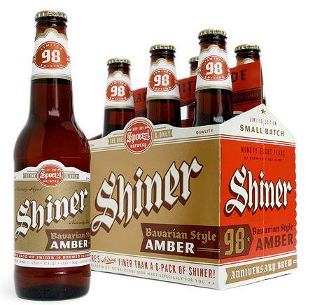 Shiner 98 Bavarian Amber Bier Verpackung Bier Und Bieretiketten