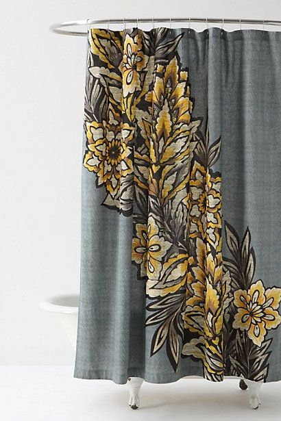 Curtains Ideas anthropology shower curtain : 17 Best images about Shower Curtains on Pinterest | Urban ...