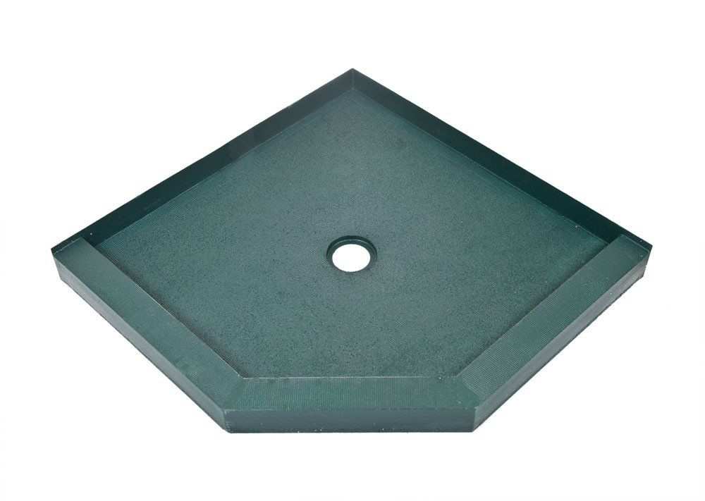 42 X 42 Neo Angle Ready To Tile Shower Base Free Shipping