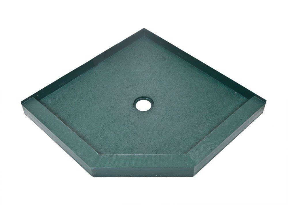 42 X 42 Neo Angle Tileable Shower Base Kbrs Showerbase Com