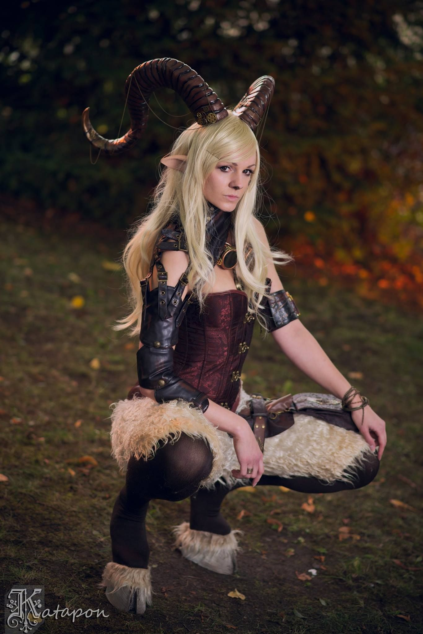Steam Punk Faun Cosplay + Winter Faun Cosplay by HanHanx3 ... |Faun Cosplay