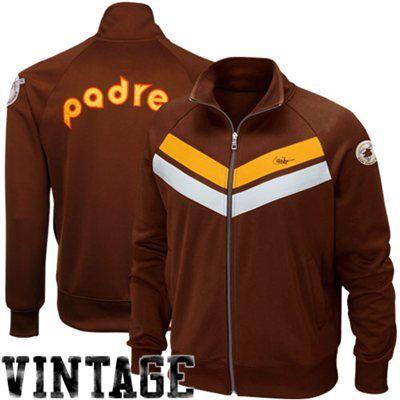 pretty nice 95024 d815b Vintage San Diego Padres Jacket | San Diego Padres Brown ...