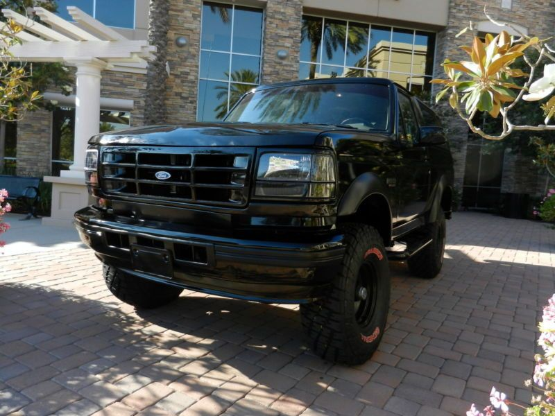 Ford Bronco Blackout Xlt Ford Bronco Bronco Ford