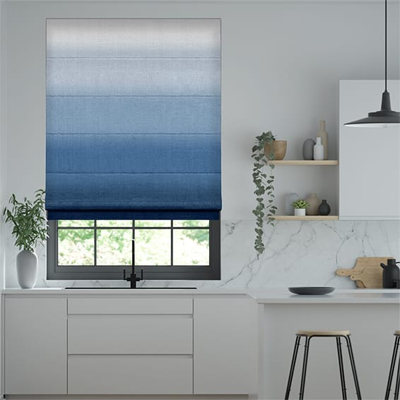 Ombre Midnight Roman Blind In 2020 Furniture Design Modern Blinds Shades Blinds