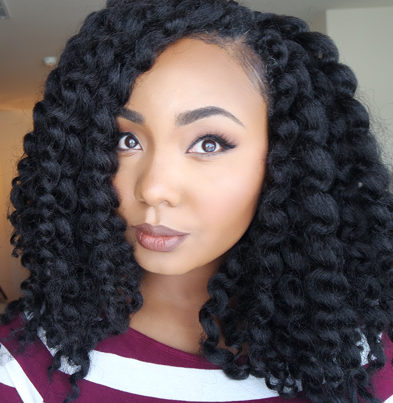 How To Crochet Twist Out My Hairnaturally Crochet Hair