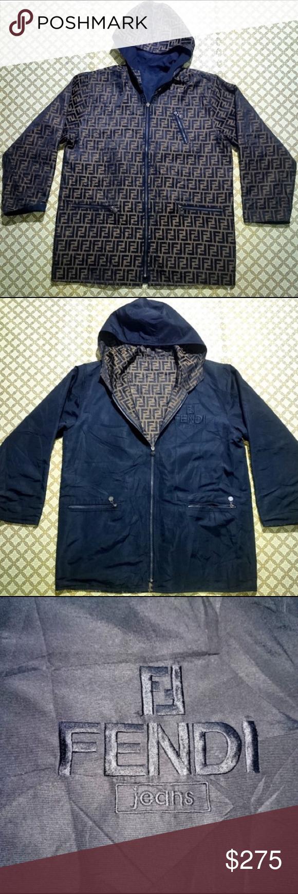 Vintage Fendi Jacket Jackets Fendi Clothes Design