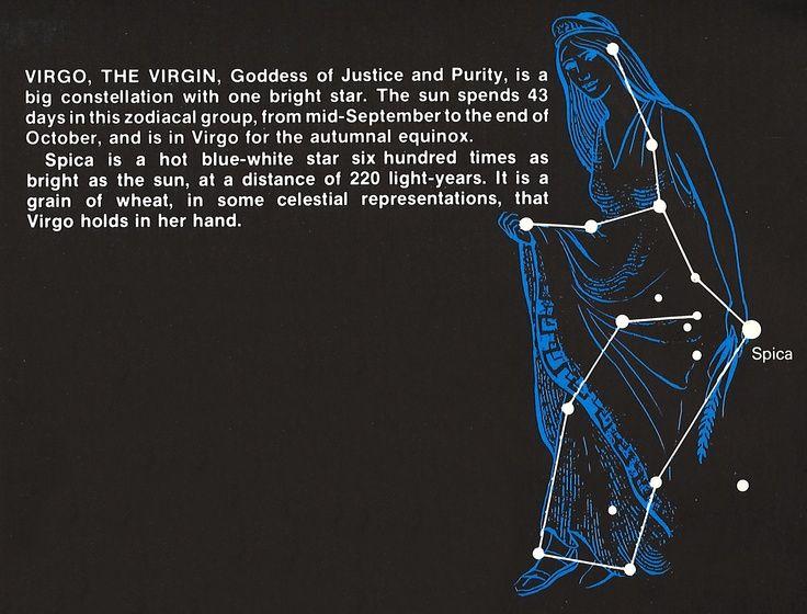 virgin Constellation virgo the