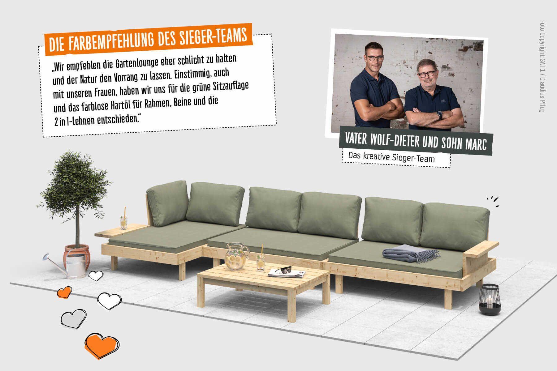 Loungemobel Kiluja Selber Bauen Create By Obi Lounge Mobel Outdoor Lounge Mobel Lounge
