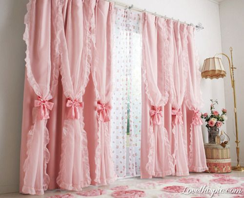 Frilly Pink Curtains Pictures Photos And Images For Facebook Tumblr Pinterest Twitter