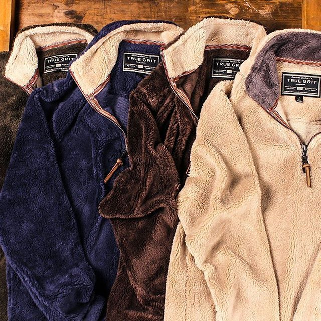 Thought we were finished talking about True Grit? Hardly! The Frosty Tip Pullovers sold out in 2 days, so the Pebble Pile Pullovers (which hit the website yesterday) don't stand a chance! #TrueGrit #preppy
