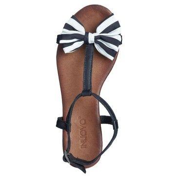 Inuovo sandali nero stepping out in style - Sandali nero giardini zalando ...