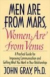 Men are from Mars, Women are from Venus is a book written by American author, and relationship counselor, John Gray. The book has sold more than 7 million copies and is reported to be one of the best selling self-help books of all time. Its theme became the foundation for the authors subsequent books, recordings, seminars, theme vacations, a one-man Broadway show and a TV sitcom. books-worth-reading books-worth-reading