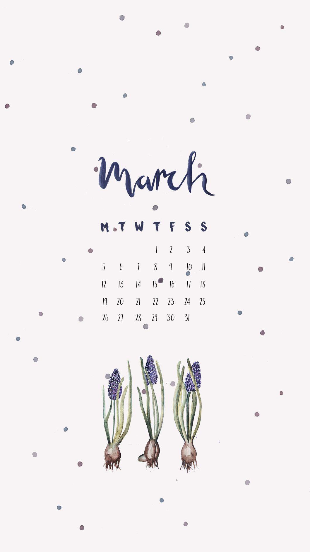 Calendario Persiano 2020.Calendario De Marzo Fondos Tumblr En 2019 Calendario