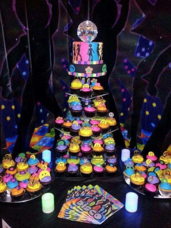 Ideas para decorar fiestas de los a os 70 s ideas para for Decoracion 70 s