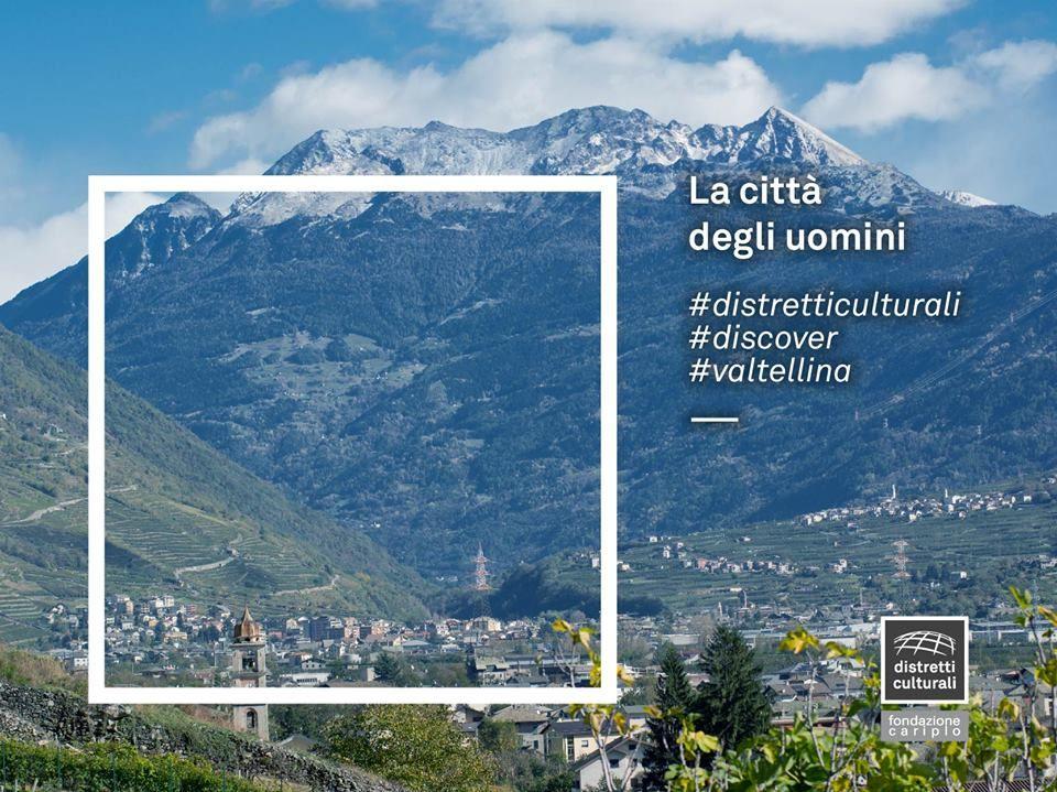...e la città di Dio.  Il Distretto Culturale della Valtellina è anche una storia di due città: i tetti delle Alpi sopra e i tetti delle case degli uomini in basso.  #distretticulturali #discover #valtellina