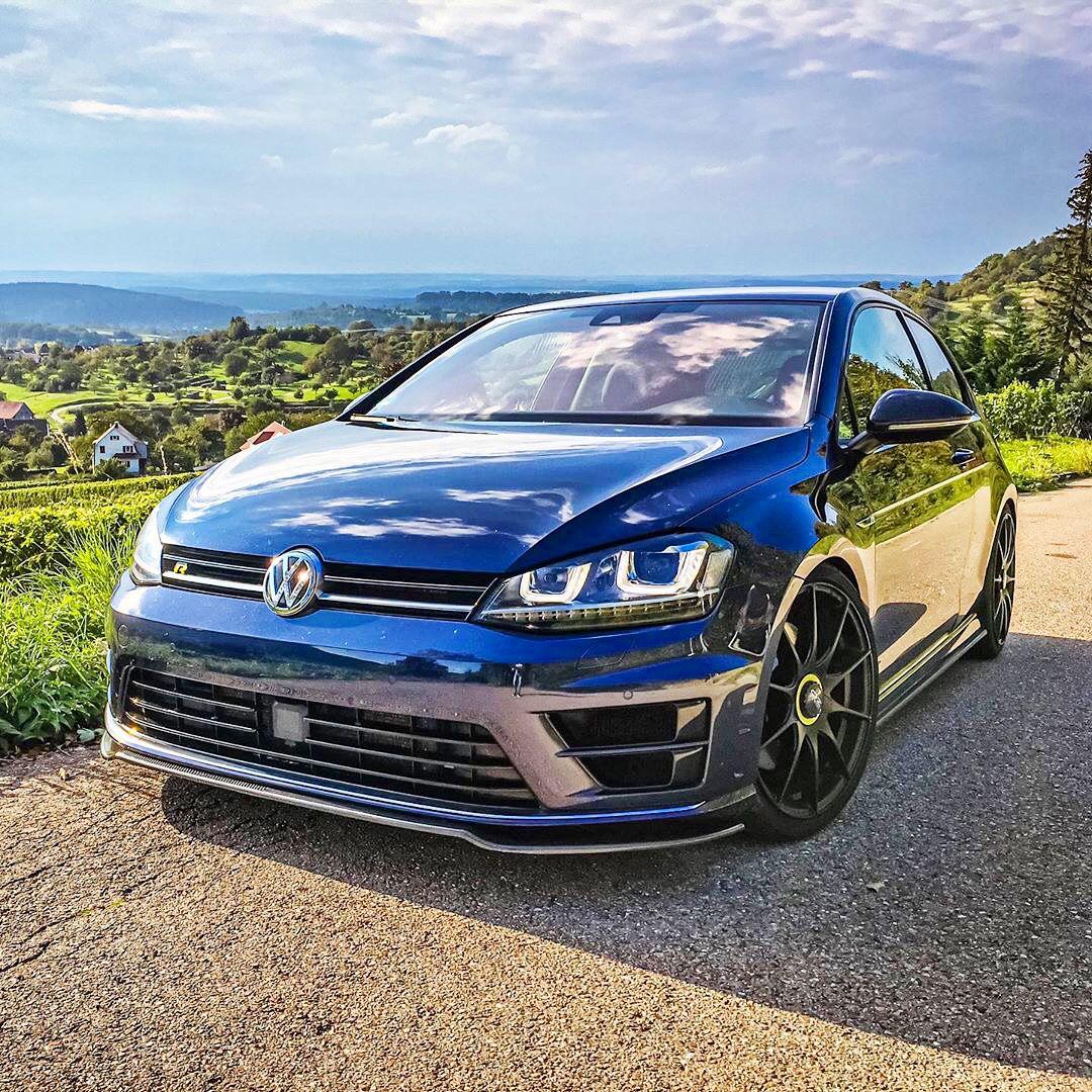 Golf 7 R Lapiz Blue Volkswagen Volkswagen Golf R Volkswagen Passat