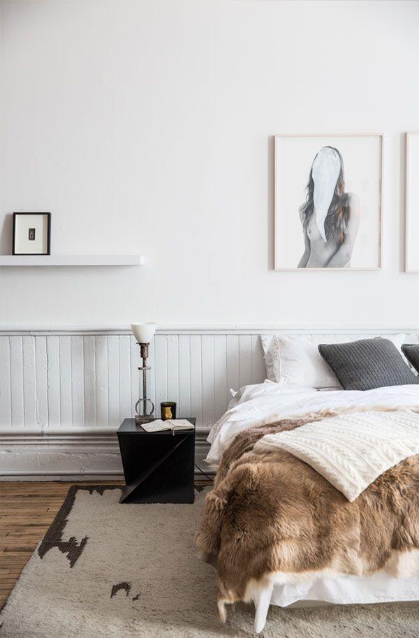 WEIß UND BRAUN IM SCHLAFZIMMER - Schlafzimmer Pinterest - schlafzimmer braun weiß