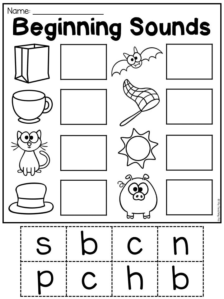 Kindergarten CVC Worksheet Packet - Distance Learning In 2020 Kindergarten  Worksheets Printable, Preschool Worksheets, Phonics Kindergarten