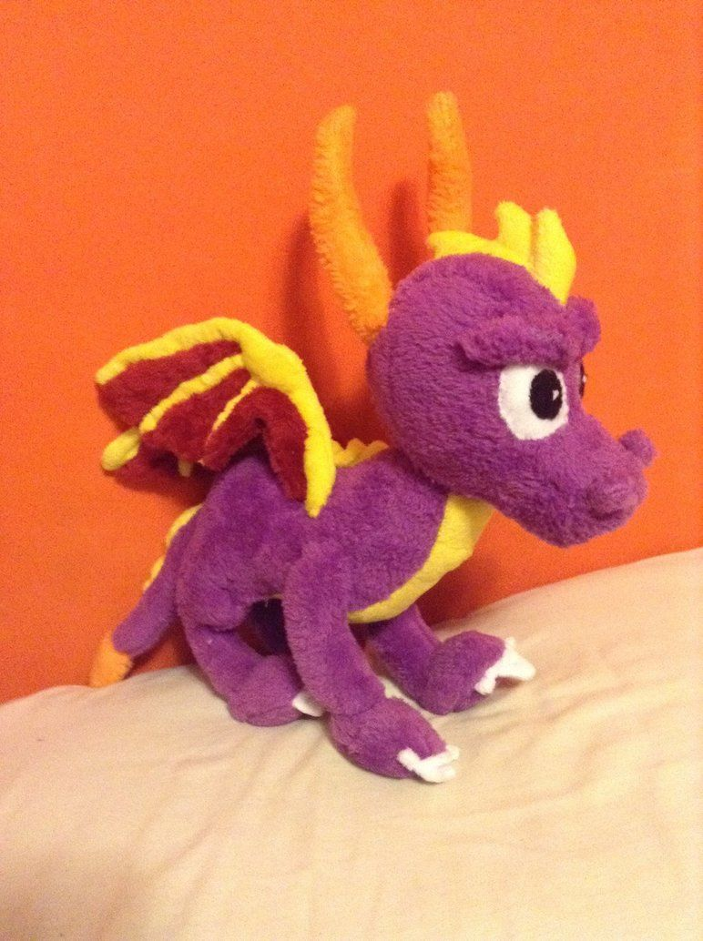 Spyro Plush Free Pattern by samichesicecream.deviantart.com on ...