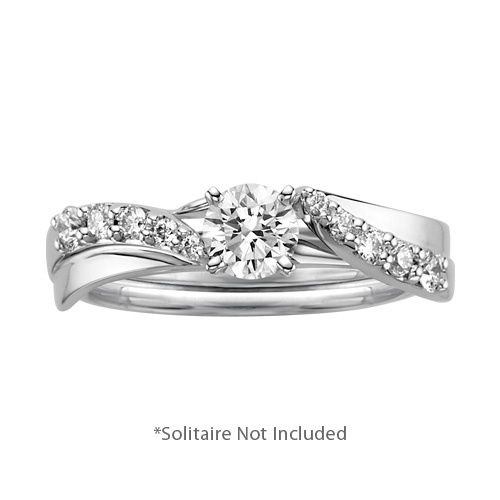 Fred Meyer Jewelers 14 ct tw Diamond Engagement Ring Wrap