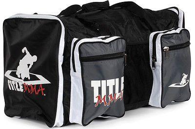Gym Bags 68816 Title Mma Mega Sport Bag