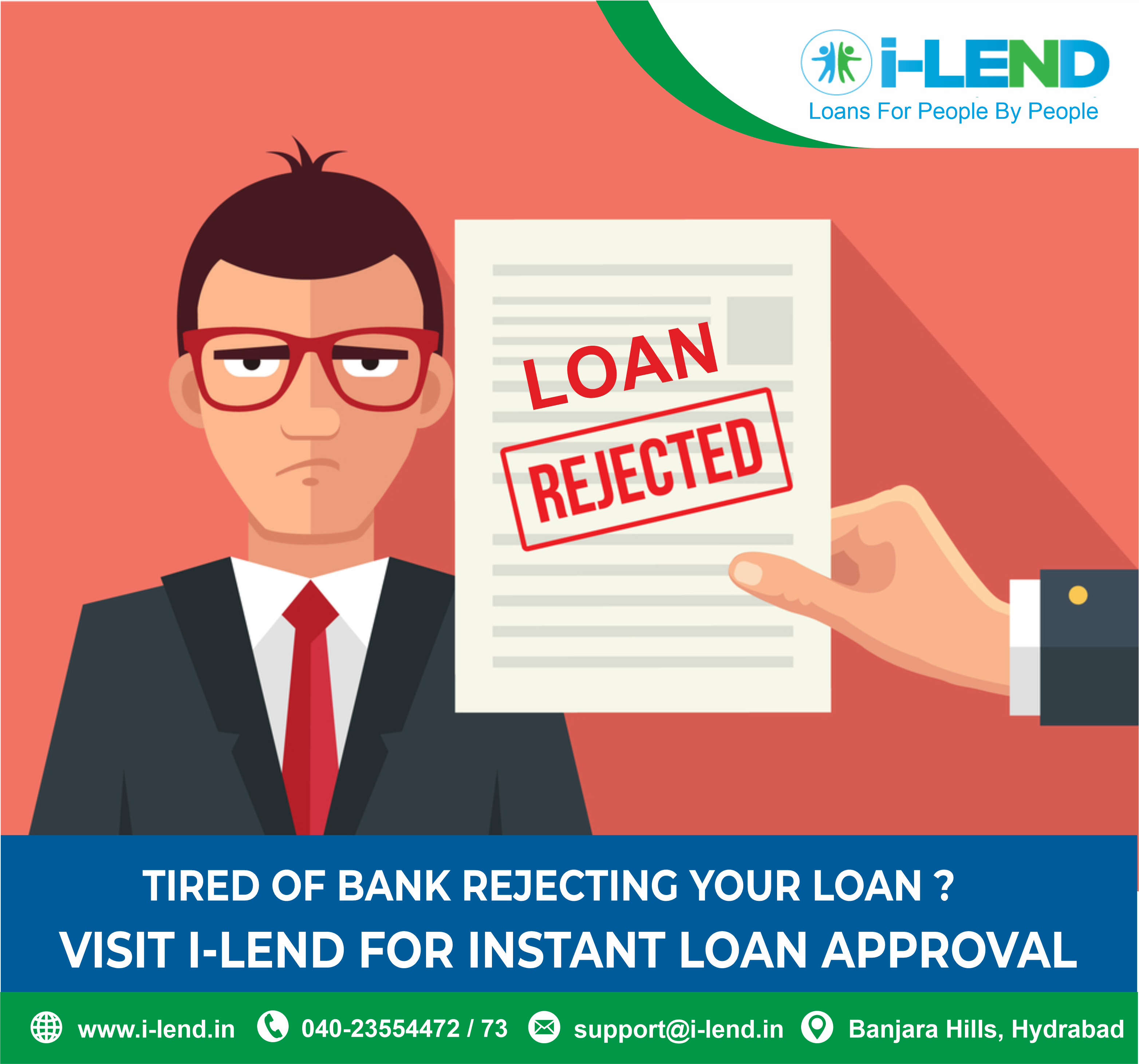 Tired Of Bank Rejecting Your Loan Visit I Lend For Instant Loan Approval In 2020 Instant Loans Personal Loans Online Personal Loans