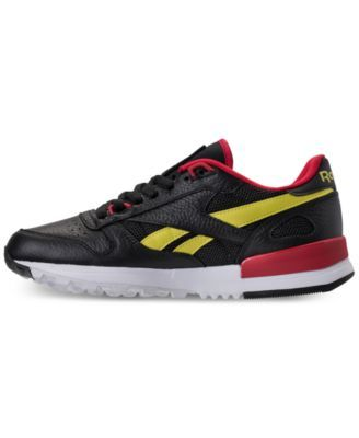 reebok men's classic leather 20 casual sneakers from