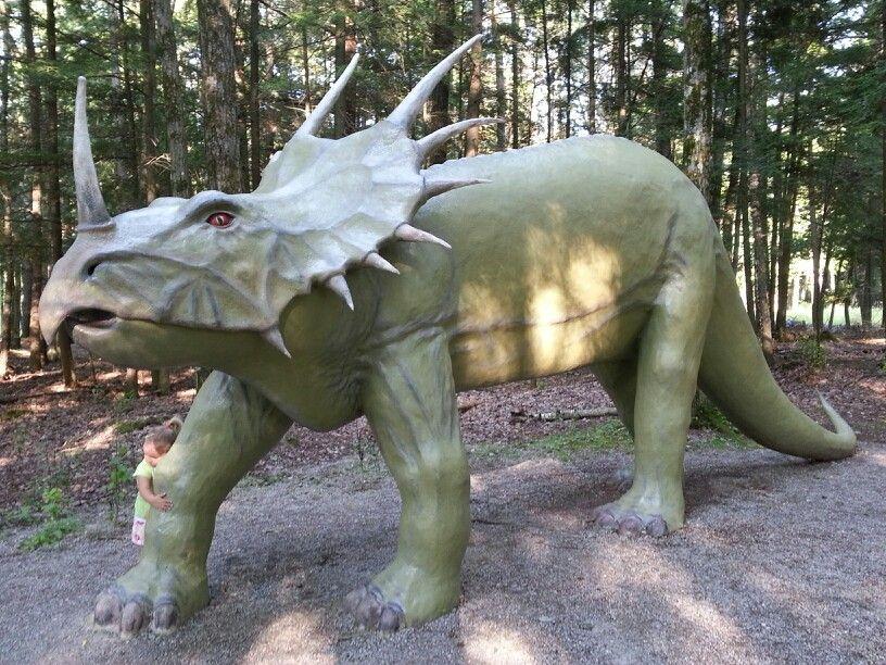 Dinosaur GardensOssineke MI Nothing stops Detroit Pinterest