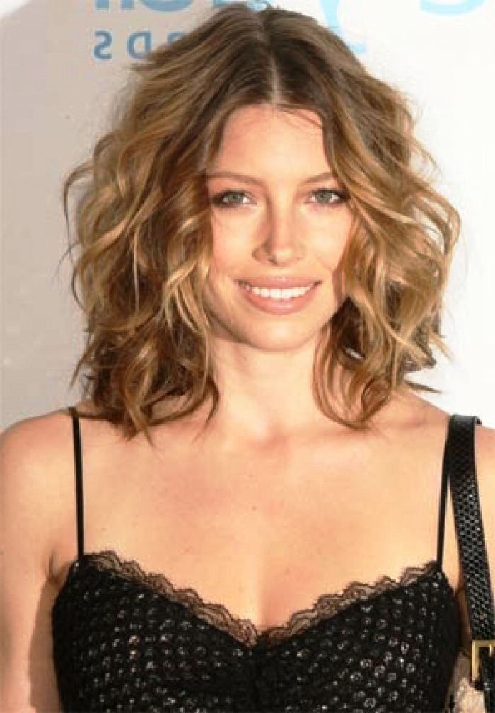 Hairstyles For Naturally Wavy Hair : Naturally curly medium length hair medium length natural wavy