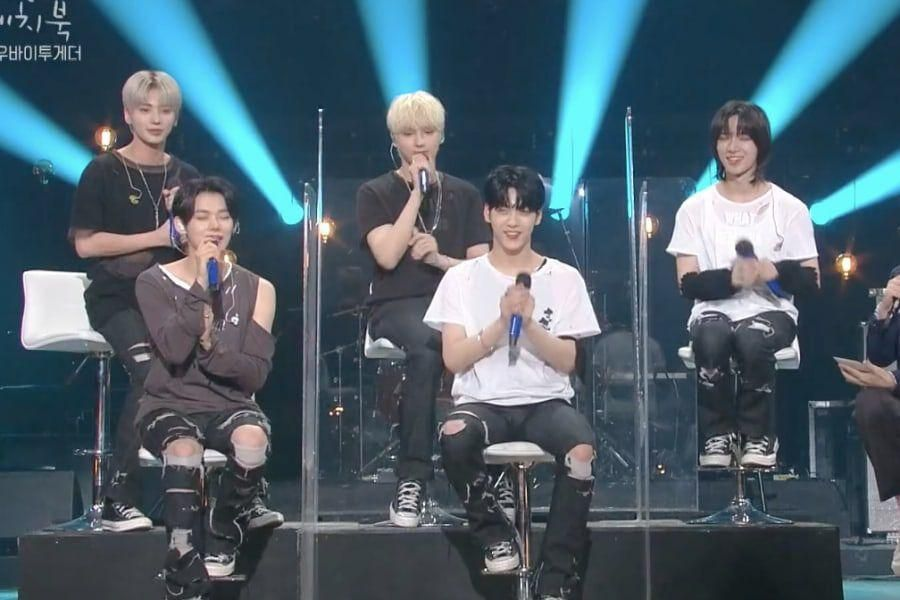 """Watch: TXT Impresses With Live Band Versions Of 5SOS's """"Youngblood"""" And """"0X1=LOVESONG"""" On """"Yoo Hee Yeol's Sketchbook"""""""