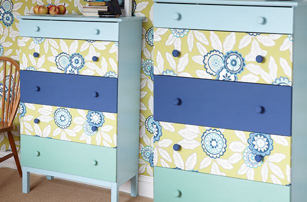 Wow friends and family with your DIY skills thanks to our super simple guide for how to update a set of drawers.