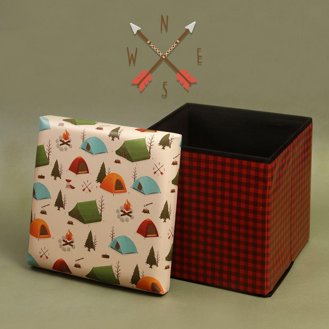 Caja de almacenaje taburete perfecto para habitaciones infantiles guardar cuerdas de escalada - Caja almacenaje infantil ...