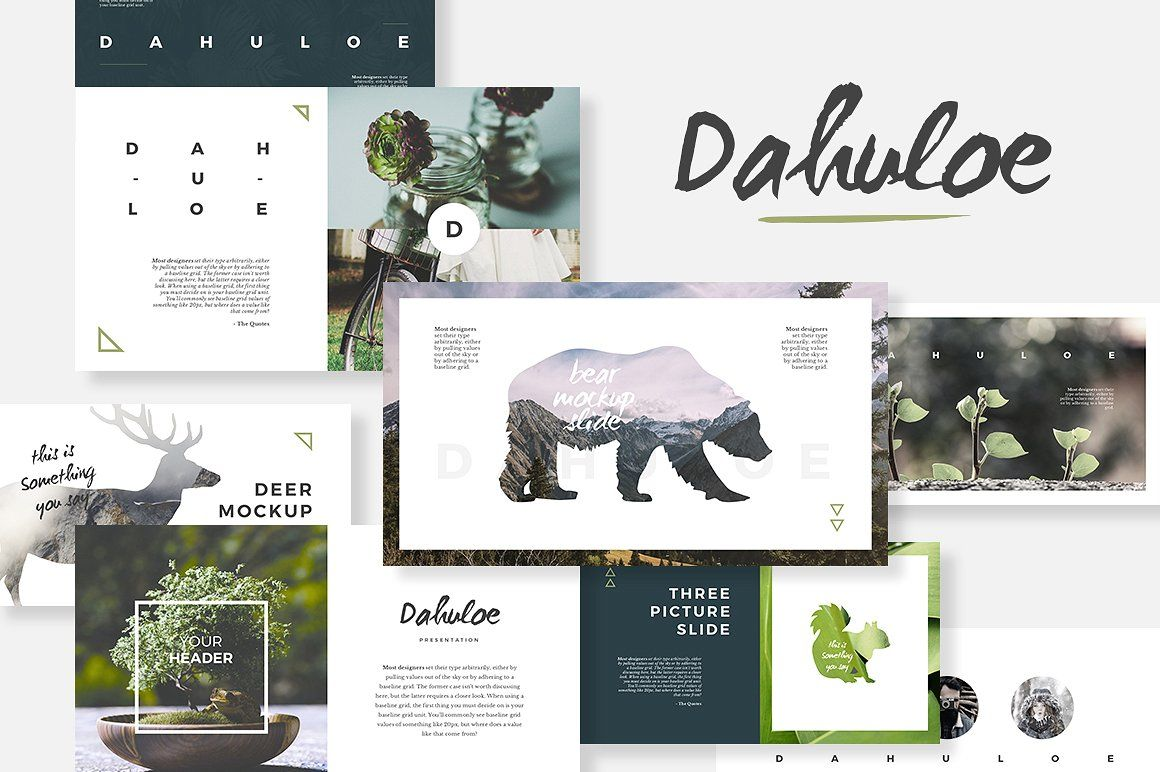 Dahuloe Powerpoint Template By Angkalimabelas On Creativemarket