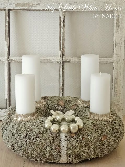 My little white home by Nadine: Advent wreath 2015