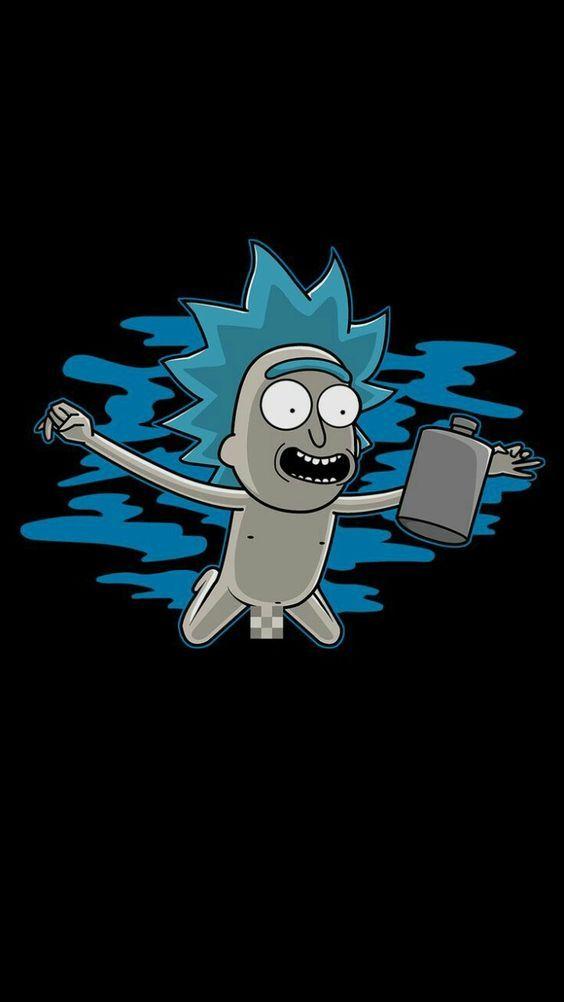 +59 wallpapers Rick and Morty para celular