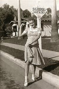 Image result for marilyn monroe norma jean young