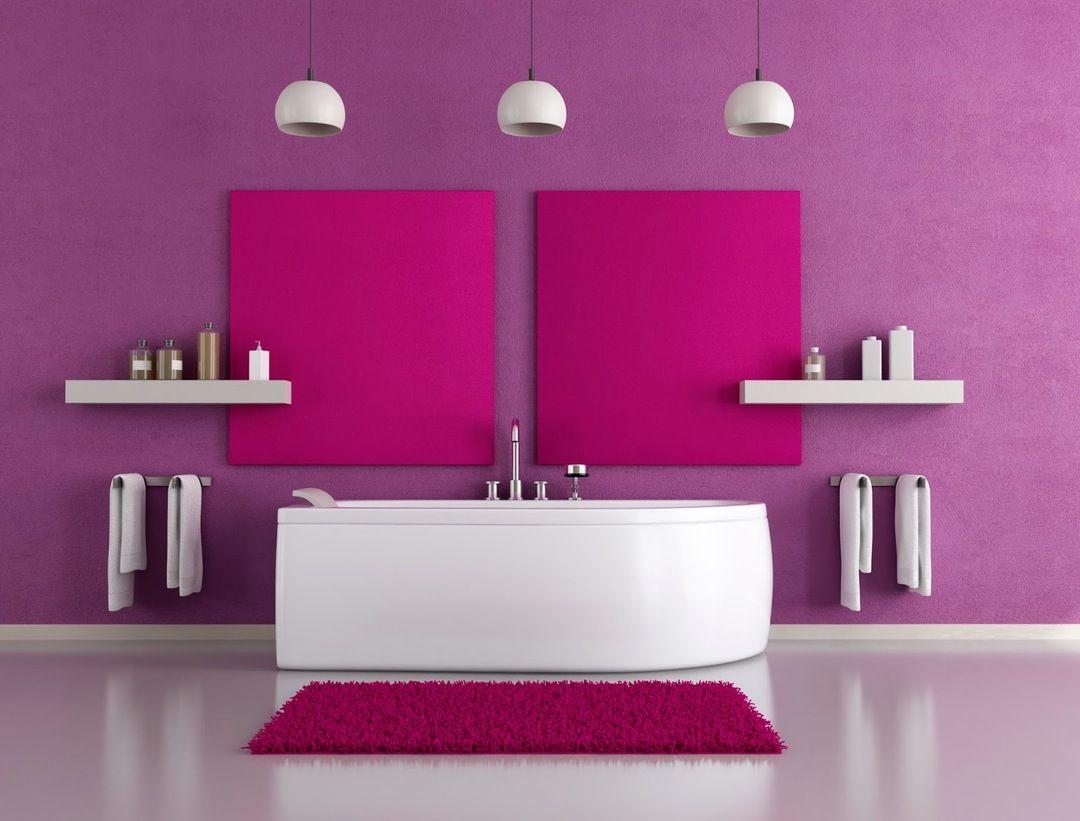 Pink Bathroom Design Pink Interiordesignideas Interior