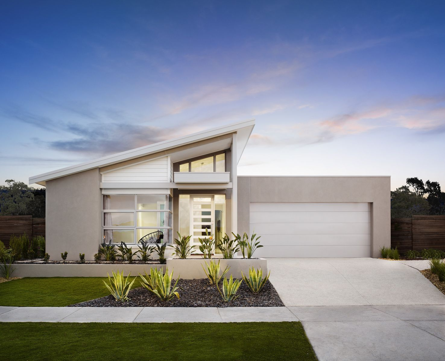 Best Skillion Roof House Designs Australia Facade House 640 x 480