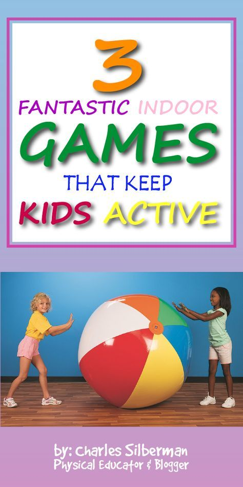 3 Indoor Group Games for Active Play - S&S Blog