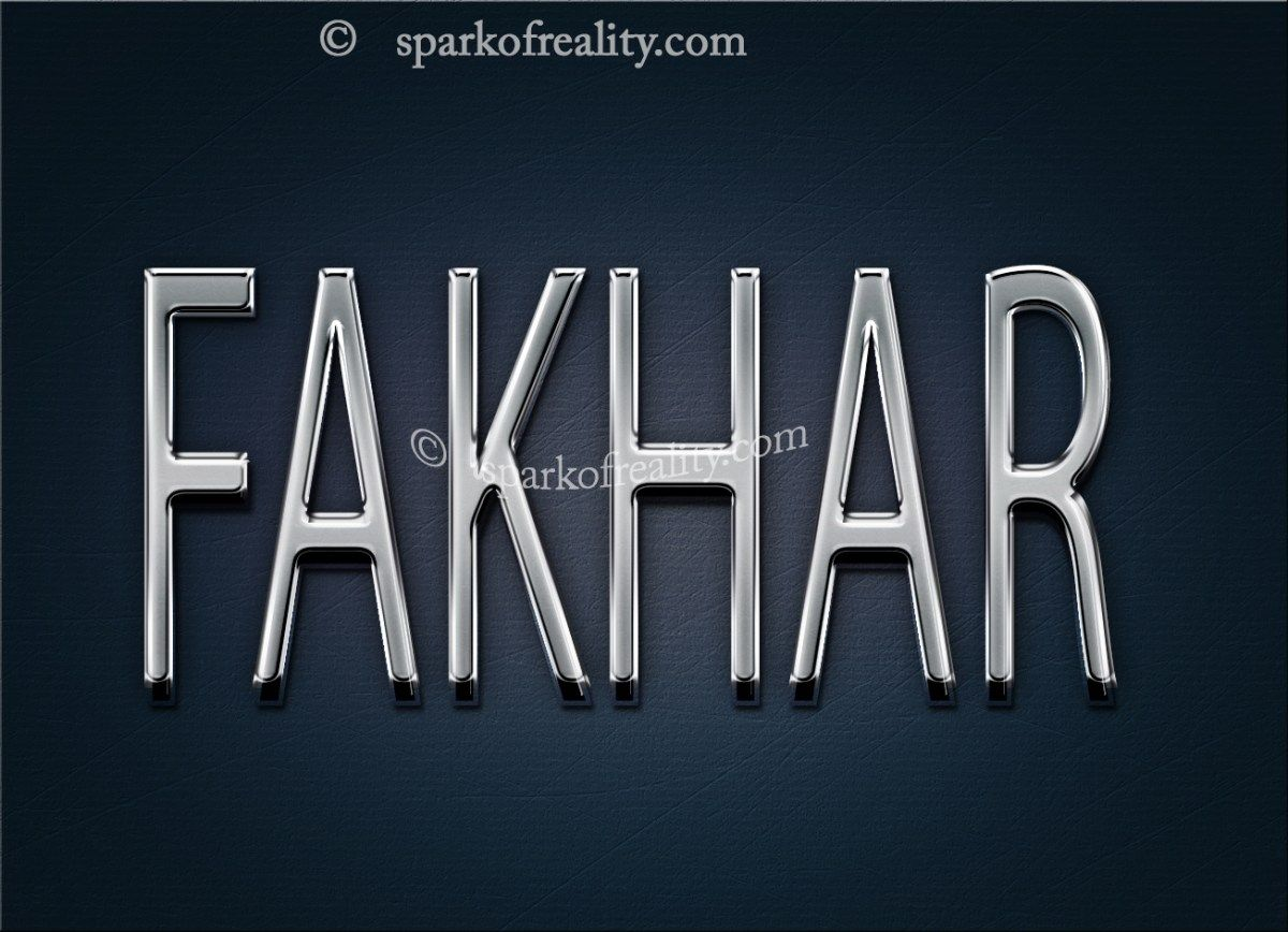 Fakhar Hd Wallpapers 3d Text Art Wallpaper