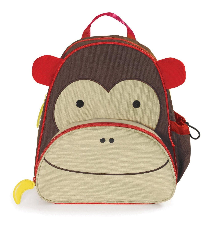 Mochila e Lancheira Skip Hop Modelo Macaquinho - FRETE GRATIS Toddler  Backpack a06492aef62fc
