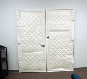 Sound Blanket For Door Google Search Tall Cabinet