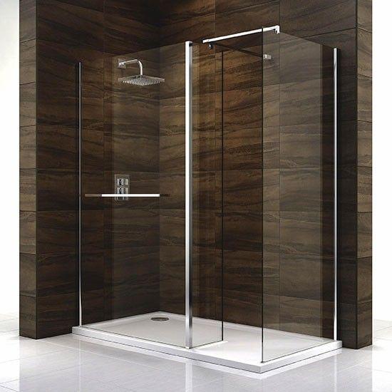 B&Q cascata walk in shower - my new shower enclosure. £542 ...