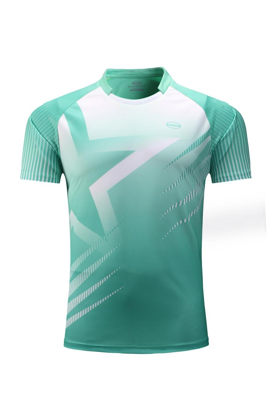 Men Golf Shirts Training Short Sleeve T Shirt Golf Shirts Sports Jersey Design Badminton T Shirts