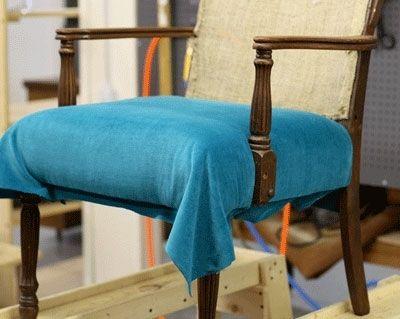 Restauración de la silla - muebles tapizados, embalaje de muebles ...