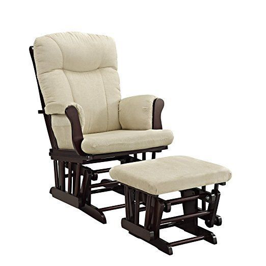 Best Nursery Rocker And Gliders For Baby Room Ottoman Recliner 640 x 480