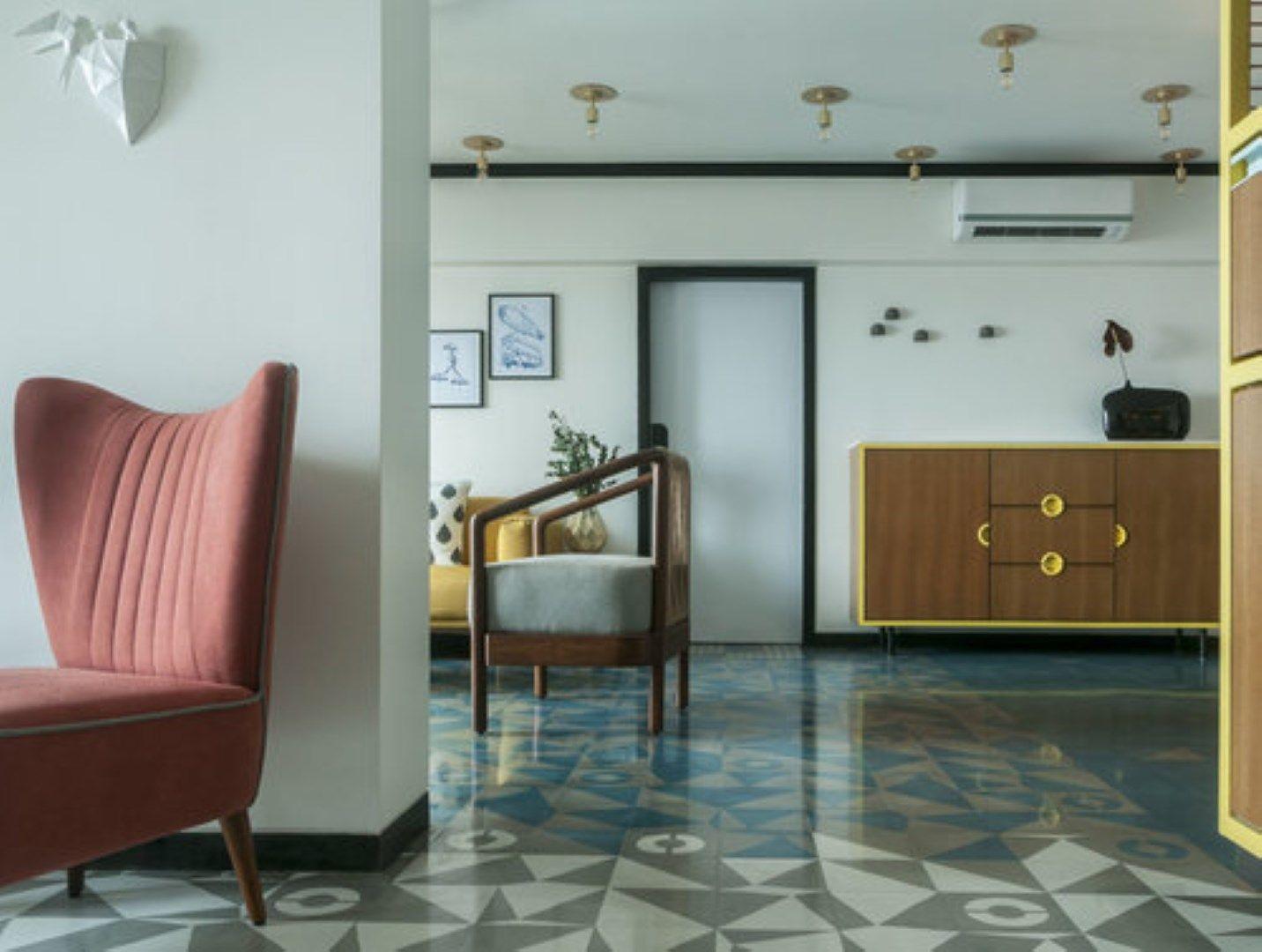 Modern Art Deco Apartment Interiors Apartment interior